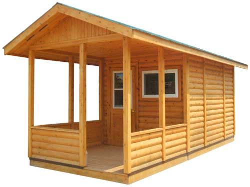 Bunkie With Porch