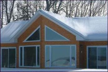 Log Siding House